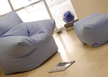 Изготовление бескоркасной мебели