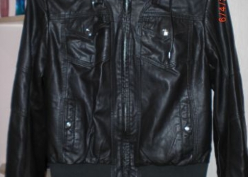 куртка демисезон кожа