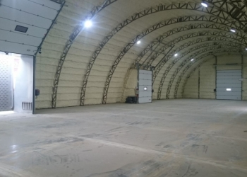 склад , открытая площадка с жд путями