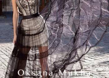 Дизайнерское вечернее платье от Oksana Mukha