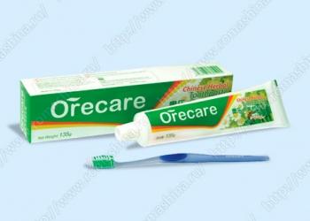 Зубная паста на травах 135 г.