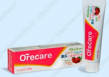 Зубная паста для детей 60 г.