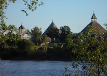 Участокв в Старой  Ладоге в историческом месте России