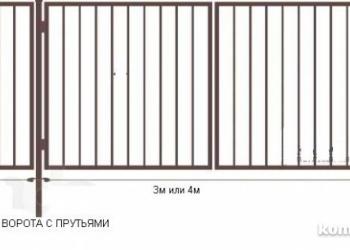 Ворота и калитки садовые с доставкой по области