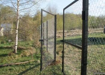 Ворота и калитки садовые распашные