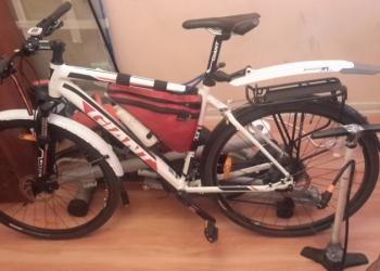продам велосипед GIANT 2014 г. ГИБРИД .