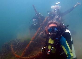 Дайвинг в Геленджике. Подводное погружение в Чёрном море