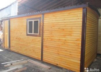 Вагончик бытовка деревянная утеплённая 6 х 2.35