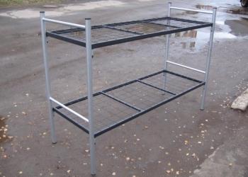 Кровати металлические с ДСП спинками для санаториев, кровати для больниц