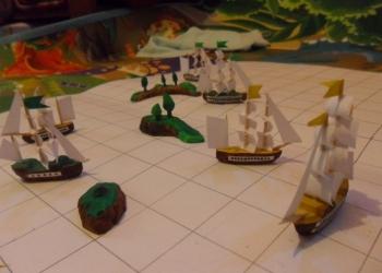 Кораблики, Настольная игра