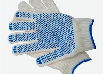 Перчатки рабочие, хозяйственные, латексные