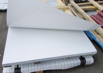 Металл плоский белый 100 листов
