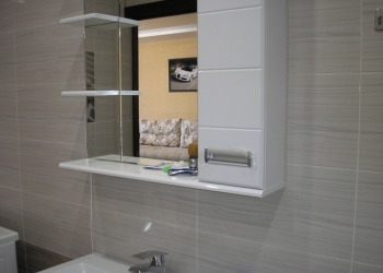 Отделка  плиткой  ванной. Облицовка стен керамической плиткой.
