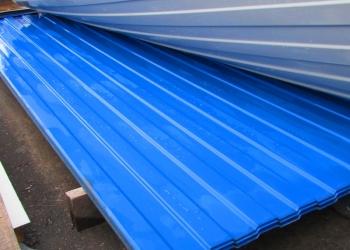Профнастил Синего цвета