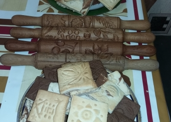 Скалки пряничные ручной работы