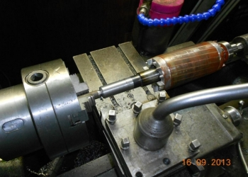 Наплавка, проточка валов эл. двигателей