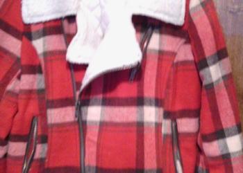 куртка жен 44 48 в клетку ,межсезонье весна,осень
