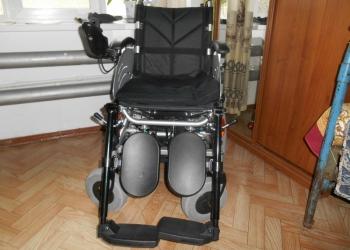 Инвалидная коляска с эл приводом FS-123