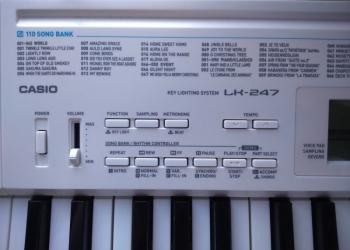 Новый синтезатор lk 237 casio