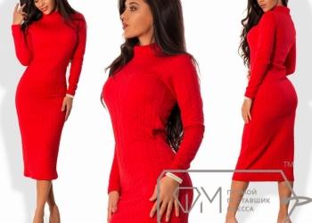 Красное платье, 44-46 р-р