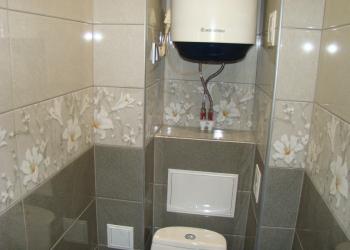 Ванной комнаты и санузла капитальный ремонт.