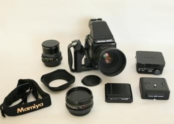 Профессиональный фотоаппарат Mamiya PZ67 pro   