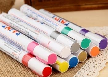 Маркер краска PAINT промышленный несмываемый по металлу, бетону и пр...