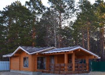 Срубы деревянных домов, бань, из профилированного бруса  со скидкой