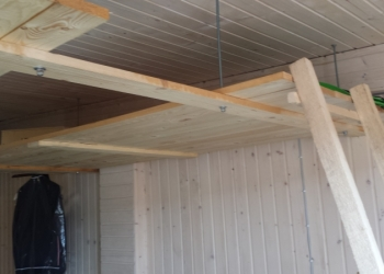 Ремонт гаражей в СПБ | Отделка гаража | Ремонт кровли