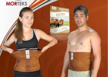 Пояс-корсет Лечебный и согревающий из верблюжьей шерсти