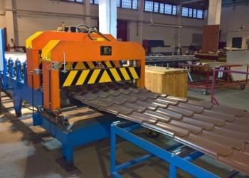Продается оборудование для производства металлочерепицы и профлиста