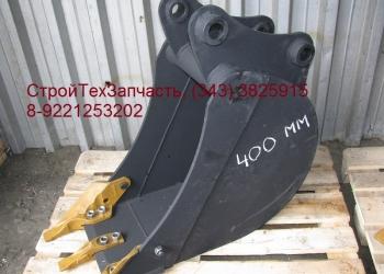 Ковш 400 мм Hidromek HMK 102B 102S Гидромек
