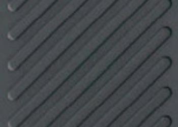 Тротуарная тактильная плитка ТП диагональные рифы 40х40*5