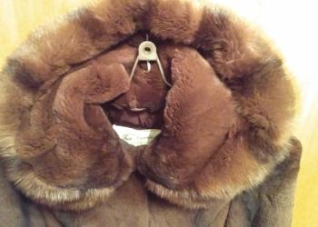 Шуба-пальто из бобра