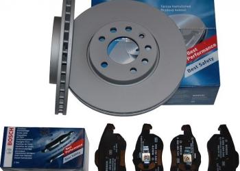 Комплект тормозов для иномарок Bosch TRW ATE