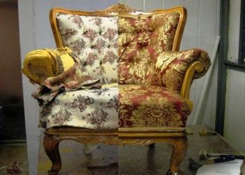 Ремонт перетяжка обивка мебели