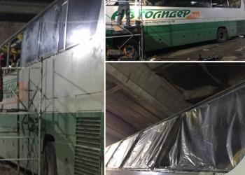 Производство/ремонт/установка стеклопакетов для автобусов любых марок