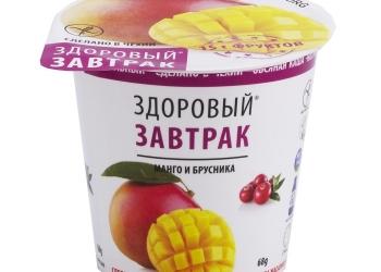 Овсяная безглютеновая каша быстрого приготовления с натуральными фруктами.