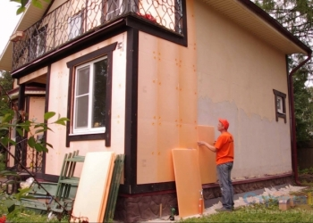 Утепление домов, коттеджей, квартир, гаражей