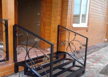 Каркас входной лестницы