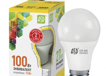 Лампы светодиодные ASD