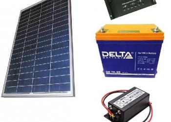 Солнечная электростанция для Вашей дачи!