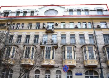 Продажа офисного блока 415 м2 в центре Москвы, арендный бизнес
