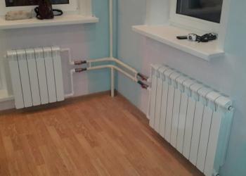 Замена батарей, радиаторов отопления под ключ