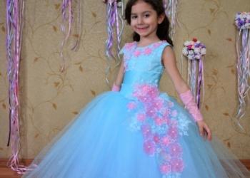 Нарядные детские платья на выпускной