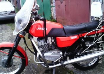 мотоцикл ява 350-638 люкс