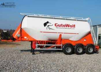 Цементовоз GuteWolf милениум алюминий