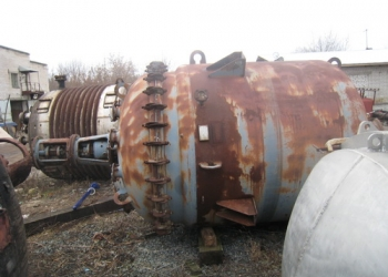 Продаю реактора эмалированные объемом 6,3м3