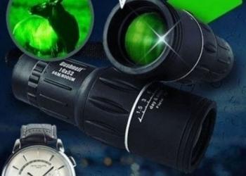 Монокуляр ночного видения плюс часы patek philippe geneve в подарок