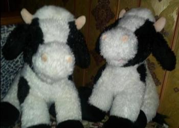 Мягкие игрушки коровы